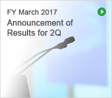 FY March 2016 Announcement of Results